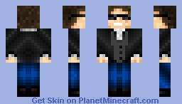 Suited guy with cool sunglasses! Minecraft Skin