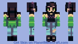 sinus, but a gorl, but i have nothing clever to say // ce Minecraft Skin