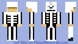 Skeleton Hunter Minecraft Skin
