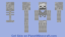 Skeleton Minecraft Skin