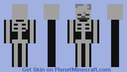 Skeleton (ur dead bro) Minecraft Skin