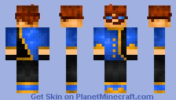 Re-Colored and Shaded Skin Minecraft Skin
