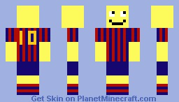 ツSmiley In FCB Clothesツ Minecraft Skin