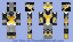 Gold Knight Minecraft Skin