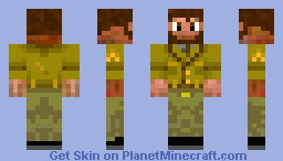 Epic raincloak guy! Minecraft Skin