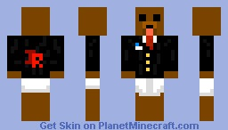 [Jr Network Skin] Bear With Under Wear xD Minecraft Skin