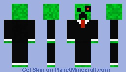 Cyborg Creeper in a Suit