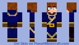 Young Wizard Minecraft Skin