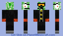 Gunpowdery Creeper Minecraft Skin