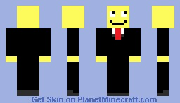 ☺Smiley In A Suit☺ Minecraft Skin