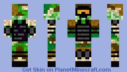 creeper soldier general Minecraft