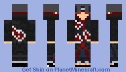 Itachi Minecraft Skin
