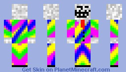 Troll Face In Unusual Suit Minecraft Skin