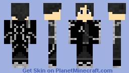 Kirito - Sword Art Online V.2 Minecraft Skin