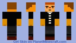 Over-Study Student Minecraft Skin