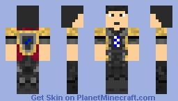 Fighter 2 Minecraft Skin
