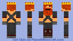 KING for experiment please say what u think of it (NO NOT HONEYDEW) Minecraft Skin