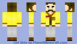 Colonel mustard Minecraft Skin