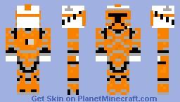 Bomber trooper Minecraft Skin