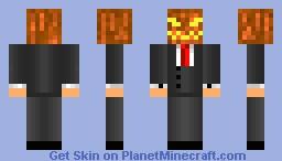 Headless Horseman (Halloween special!) Minecraft Skin