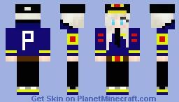 Police officer - Girl/Woman Minecraft Skin