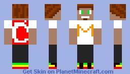MojangMan(With dreadlocks)-CzłowikMojangu(Z Dredami) Minecraft Skin