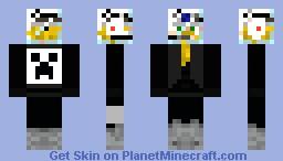 Glass hat Minecraft Skin
