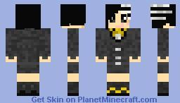 Kid Girl - Soul Eater v2 Minecraft Skin