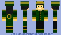 earth bender Minecraft Skin