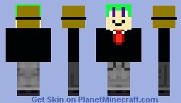 Classy man Minecraft Skin