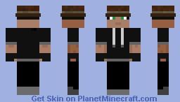 """Stranger (from mlgHwnT's """"Wild Adventures"""") Minecraft Skin"""