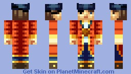 A Pirate - A skin for Sillouete Minecraft