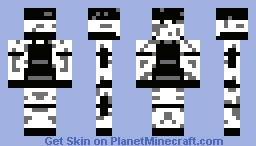 Snow Soldier Minecraft Skin