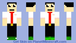 Two face suit man [tell me another skin to do] Minecraft Skin