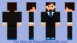 Man with beard Minecraft Skin