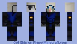 Garrus Vakarian w/Helmet *HELP ME EDIT* Minecraft Skin