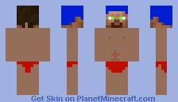 DT steve Minecraft Skin