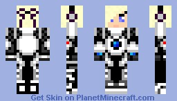 Robo Girl Minecraft Skin