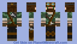 Explorer of the Woods [A lot better in 3D] Minecraft Skin