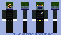 Dark Alien Death Trooper Minecraft Skin