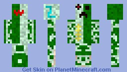 Creeper Cyborg Minecraft