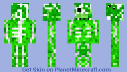 slime coverd skeleton