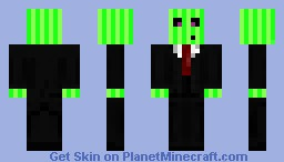 my freinds Minecraft Skin