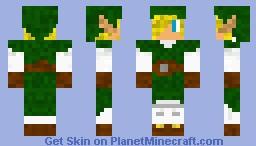 Link- For mikke121's skin contest Minecraft Skin