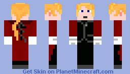 Edward - Fullmetal Alchemist Minecraft Skin