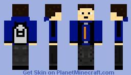 Bluawk Grylls (from Kuledud3) Minecraft Skin