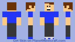 Chris from Hellbenders Minecraft Skin
