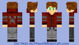 Normal Minecrafter Minecraft Skin
