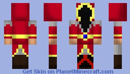Fire Mage Minecraft Skin