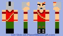 Vaas Montenegro Far Cry 3 Minecraft Skin